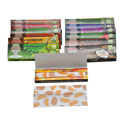 5 X Booklets Hornet 78MM Juicy Fruit Flavored Cigarette Smoking Rolling Paper