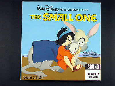 Super 8Mm Sound & Color / Walt Disney Home Movie / The Small One / 037