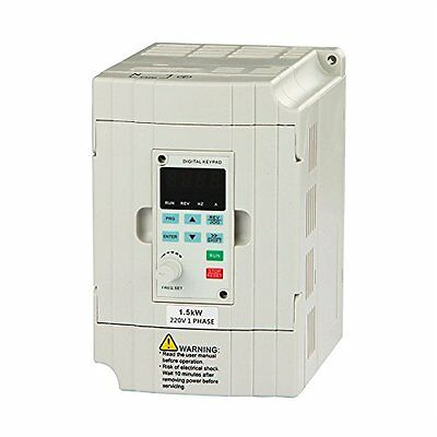Sanders VFD Drive Inverter Professional Variable Frequency 1.5KW 2HP 220V 7A For