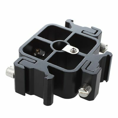 3 in 1 All-metal Tri-Hot Shoe Mount Adapter for Flash Light Stand Y2U2