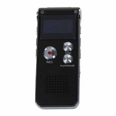 Rechargeable 8GB 650Hr Digital Audio Dictaphone MP3 Player E1S3