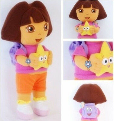 DORA THE EXPLORER Kids Girls Child Soft Cuddly Stuffed Plush Toy Doll Toys Gifts
