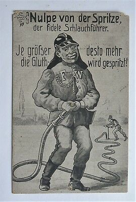 Old/antique Original Imperial German Postcard *nulpe Von Der Spritze* , Scarce