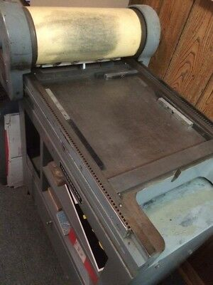Vandercook 1 Letterpress with MANY letters and fonts included