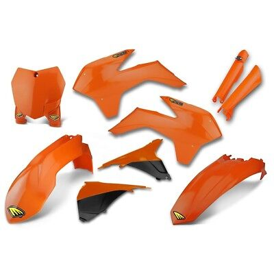 Cycra NEW Mx KTM SX SXF 2013-2015 Full Orange Powerflow Motocross Plastics Kit