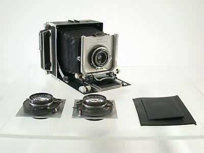 LINHOF Technika 9x12 Angulon 90 Tessar Zeiss 180 250 full set /17