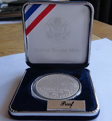 2002 Olympic Winter Games Proof Silver Dollar