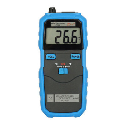 BSIDE BTM01 1.77IN 2-Channel Handhold  K-Type Thermometer D4C1