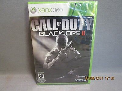 Call of Duty: Black Ops II (Microsoft Xbox 360, 2012) Sealed Free shipping
