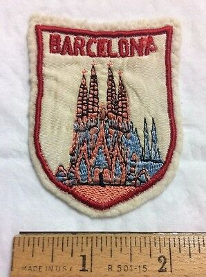 Barcelona Spain Espana Cathedral of the Holy Cross and Saint Eulalia Patch