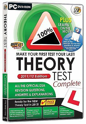 Avanquest Driving Theory Test - PC Edition - GorillaSpoke Free P&P Worldwide!