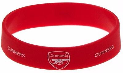 ARSENAL Silicone WRISTBAND Licensed Official ARSENAL Merchandise