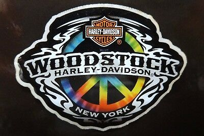 Woodstock New York Harley-Davidson Collectible Peace Sign Pin