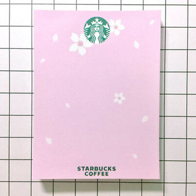 Korean Cute Stationery Paper Memo Pad Bookmark Note Letter 100sheets Starbucks