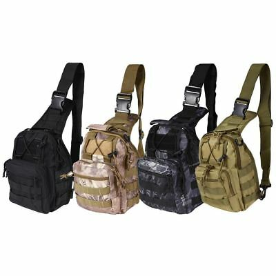 Chest Bag With Molle System Military Pouch Tactical Shoulder Bag