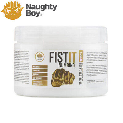 Fist It Numbing Anal Lube 500ml From Naughty Boy