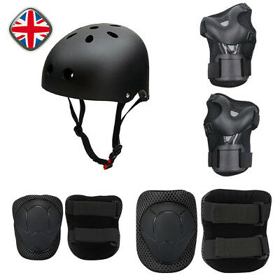SKATEBOARD PROTECTION SET BIKE SCOOTER HELMET KNEE ELBOW WRIST PADs  KIDS