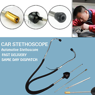 Mechanics Automotive Engine Fault Diagnostic Stethoscope Garage Tool For Car Van