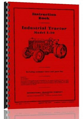 1939 International Harvester I 30 Industrial Tractor Operators Manual international harvester 3414 industrial tractor service manual  at gsmportal.co