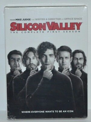 Silicon Valley: Complete First Season 1 One (DVD, 2015, 2-Disc Set) HBO NEW