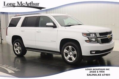 2017 Chevrolet Tahoe LT 4WD 6 SPEED AUTOMATIC SUV NAV BLIND SPOT MONITORING SYSTEM, FRONT AND REAR SENSING REAR CAMERA POWER LIFTGATE