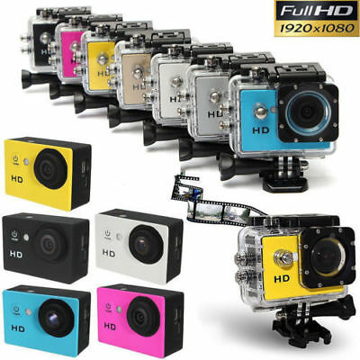 Full HD 1080P Sports Action Camera Cam Includes GoPro Kit