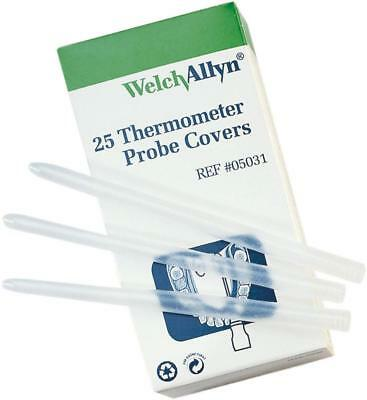 Welch Allyn SureTemp Thermometer Probe Covers, #05031. 25/Box in Packs Available