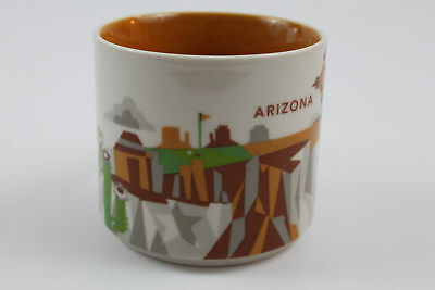 Starbucks Arizona You Are Here Collection Coffee Mug Tea Cup 14 Oz