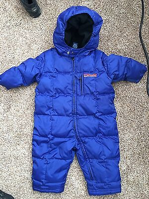Ralph Lauren Toddler Infant Boys Girls Size 12 Months Snow Suit Polo NICE