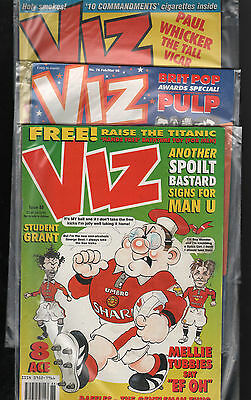 Viz Comic  Issues 76 86 88  Three Back Issues