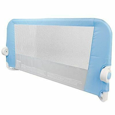 Lindam Easy Fit Bed Guard Toddler Baby Safety Bad Rail Blue 18Months To 5Years