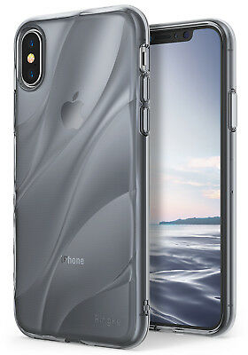 For Apple iPhone X 10 | Ringke [FLOW] Wave Shockproof Flexible TPU Case Cover