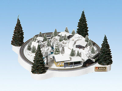NOCH 88060 Z Scale Winter Christmas Train Layout *USA Dealer* Marklin $0 SHIP!