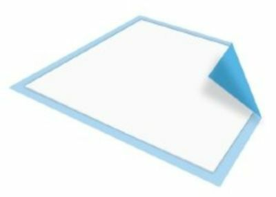200 CT 23x24 Adult Disposable Bed Chair Incontinence Under Pad Underpads Light