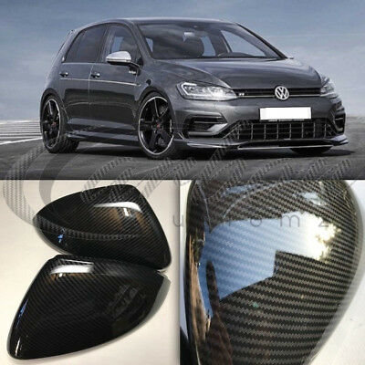 VW Golf MK7 Carbon Fibre Effect Wing Mirror Covers GTI Golf R GT TDI 2013-2017