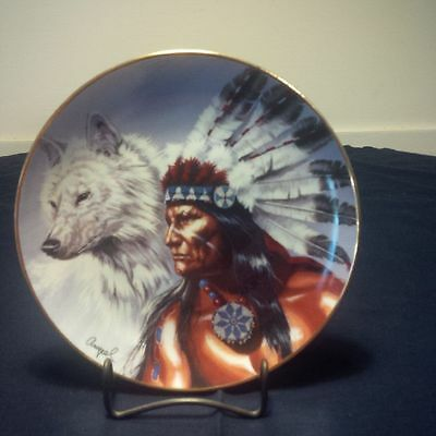 """Spirit of the White Wolf"" Franklin Mint Collection"