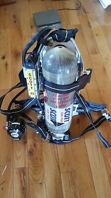 Scott 4.5 AP50 CBRN SCBA w HUD Regulator with tank Air pack