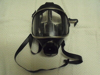 Draeger Drager Panorama Nova Scba Gas Air Full Face Mask Respirator R26279~