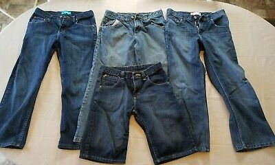 boys lot of size 10 husky jeans and shorts