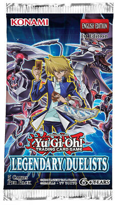 Yu-Gi-Oh! Legendary Duelists!  Buy 2 Get 1 Free! Yugioh Boosters