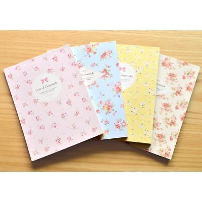 63sheets Romantic Flower Letter Lined Writing Korean Stationery Paper Pad Korea