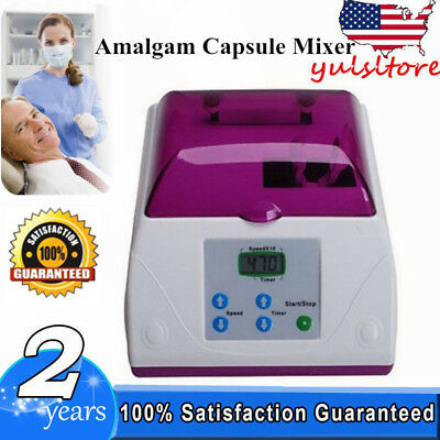 Dental Lab Equipment Electric amalgamator Fast Speed amalgam Capsule Mixer
