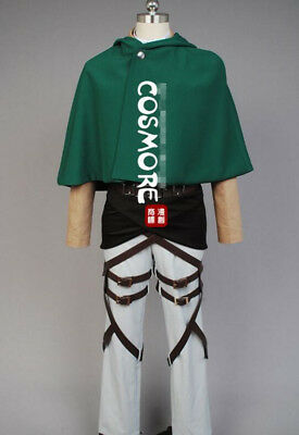 Attack on Titan Sungeki no Kyojin Levi Ackerman Cosplay Kostüm Damen L (EU M)