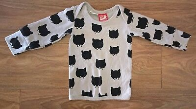 ROCK YOUR BABY Girls Boys Unisex Sz 000 0-3 mths Long sleeved Top
