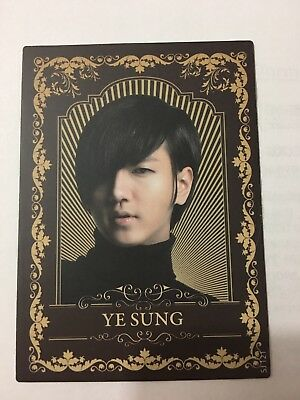 Super Junior Star Collection - Yesung Luxury Classic Card