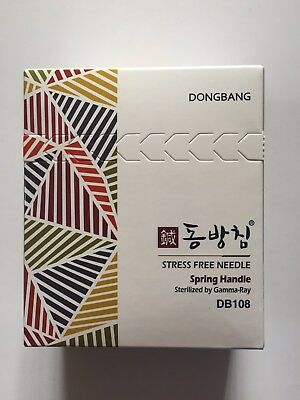 NEW Dong-Bang Disposable Acupuncture Needle 1000 pcs Spring Aguja de acupuntura