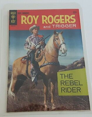 Roy Rogers and Trigger #1 (Apr 1967, Western Publishing) Gold Key   8.0 VF