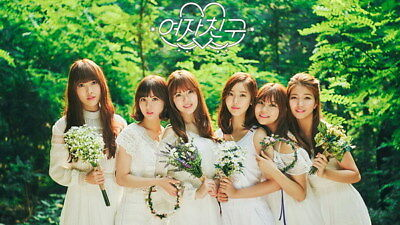 "034 Korean Idol - GFRIEND SoJeong Yuju YeRin Girl Hot Kpop Star 42""x24"" Poster"