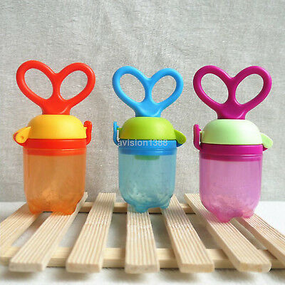 Feeding Pacifier Food Fruit Feeder Nipple Nontoxic Soother for Kids Infant Baby