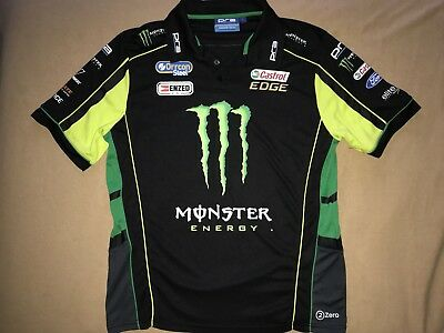 PRA Monster Energy Racing MENS L POLO RRP $80 - Official Prodrive FPR
